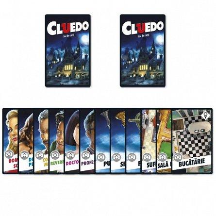 Carti de joc Cluedo, Limba Romana