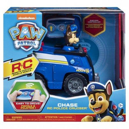Masina cu radiocomanda Patrula Catelusilor - Chase si masina de politie