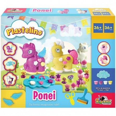 Set de joaca Plastelino - Ponei