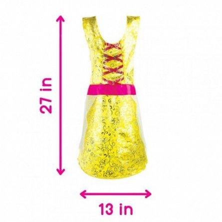 Costum tip rochie, Adorbs, galben