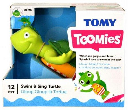 Jucarie de baie Tomy - Testoasa cantareata