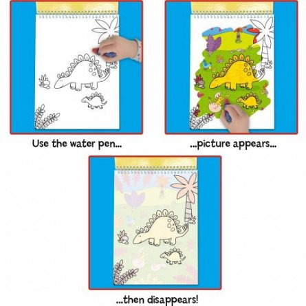 Water Magic, Carte de colorat Dinozauri