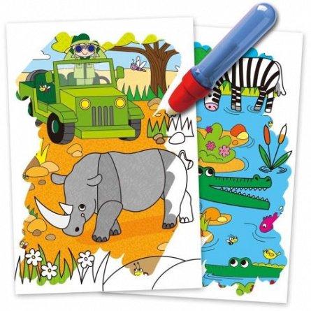 Water Magic, Carte de colorat Safari