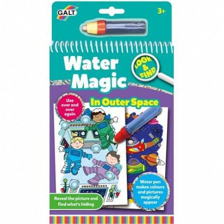 Water Magic, Carte de colorat Spatiu
