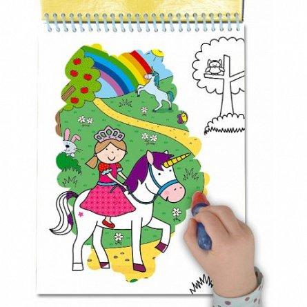 Water Magic, Carte de colorat Unicorni