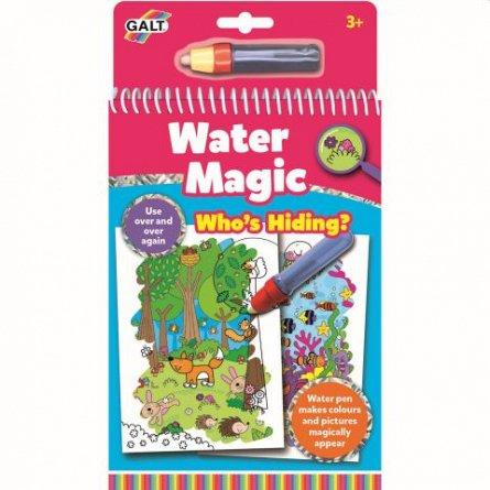 Water Magic, Carte de colorat Who's Hiding