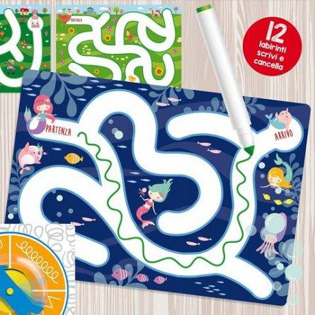 Joc Montessori - Labirinturi amuzante, Lisciani