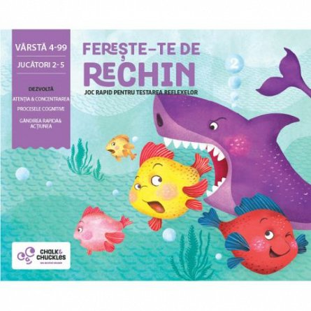 Joc Fereste-te de rechin, Chalk and Chuckles