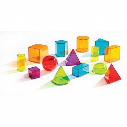 Forme geometrice colorate, Learning Resources