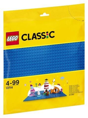 LEGO Classic - Placa de baza albastra 10714