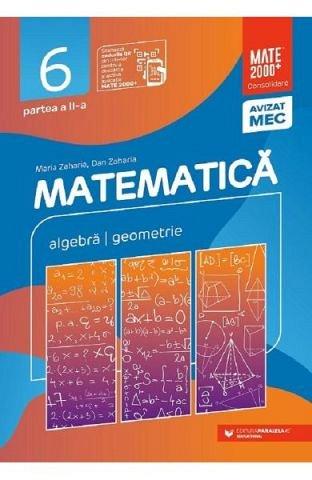MATEMATICA. CONSOLIDARE, CLASA 6 PARTEA 2