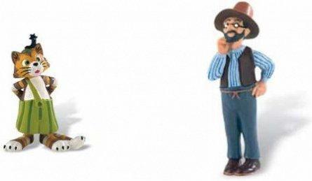 Set figurine Pettersson si Findus