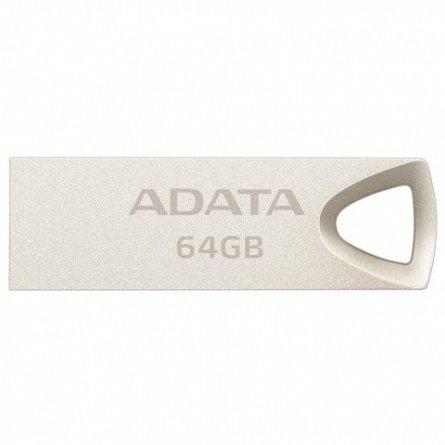 Stick Mem. USB2.0 ADATA UV210, 64GB, metalic