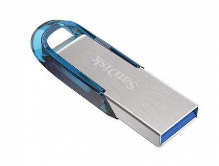 Stick Mem. USB3.0 SanDisk Ultra Flair, 64GB, 150MB/s citire, albastru