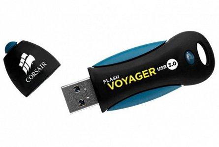 Stick Mem. USB3.0 Corsair Voyager, 64GB, 190Mb/s citire, 55Mb/s scriere