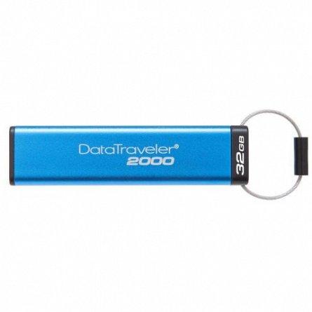 Stick Mem. USB3.0 Kingston Data Traveler DT2000, 32GB, Keypad, 256bit AES