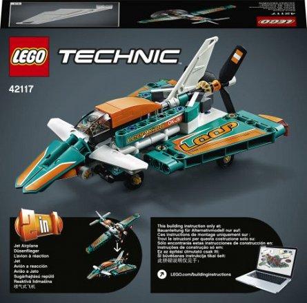LEGO Technic - Avion de curse 42117