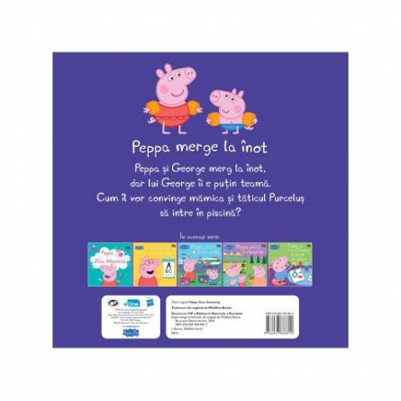 Peppa Pig. Peppa merge la inot