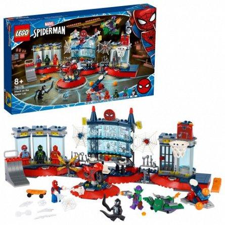 LEGO Marvel Super Heroes - Atacul asupra bazei lui Spider-Man 76175