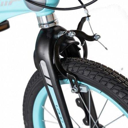 Bicicleta copii 4-6 ani, cadru aliaj magneziu, roti 16 Inch, frane C-Brake, roti ajutatoare, Lanq CS