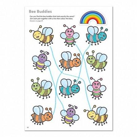 Carte de colorat cu activitati in limba engleza si abtibilduri - Mai Multe Lucruri de Facut, Orchard