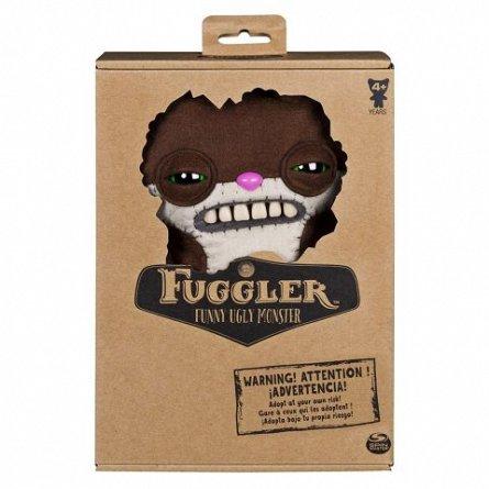 Plus Spin Master Fuggler - Monstru mediu 26 cm, Veverita Maro