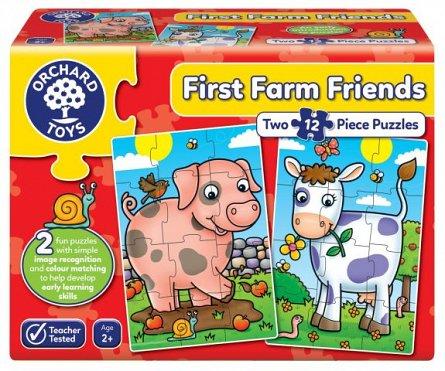 Puzzle Primii Prieteni de la Ferma, Orchard Toys