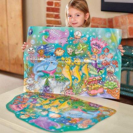 Puzzle de podea Distractia Sirenelor, Orchard Toys