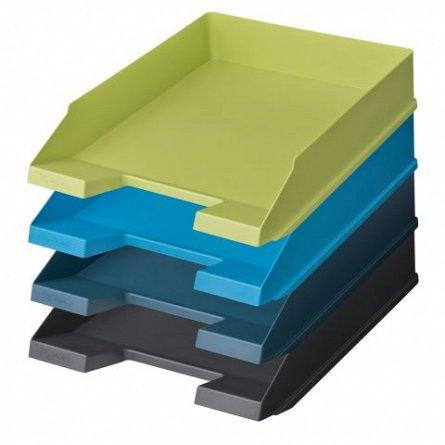 Tavita pentru documente, Herlitz, Blue Angel, albastru petrol