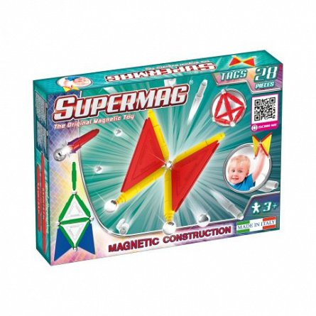Supermag, Tags Primary - Set constructie 28 piese