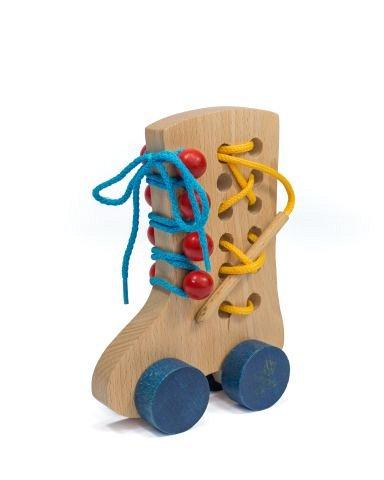 Jucarie lemn, Pantof cu siret, Tarnawa