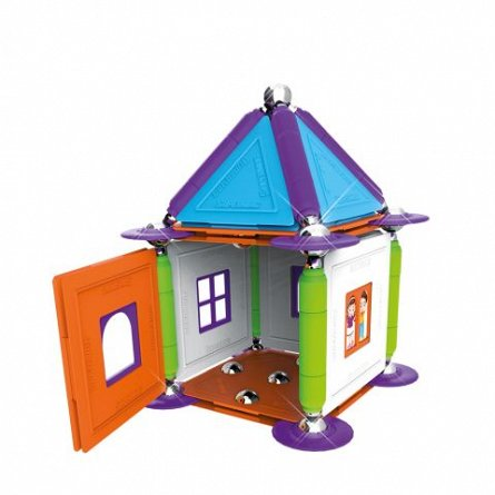 Supermag, My house - Set constructie 83 piese