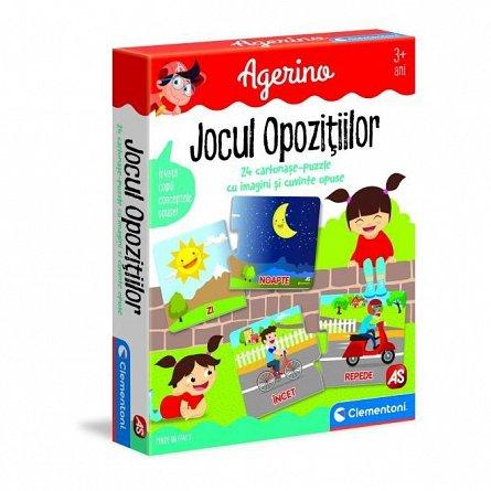 Joc educativ Agerino - Jocul opozitiilor