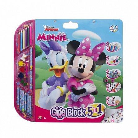 Set pentru desen 5 in 1 As Art - Giga Block, Minnie