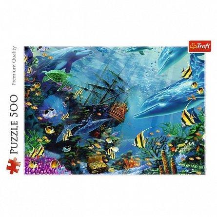 Puzzle Trefl - Comoara din adancuri, 500 piese