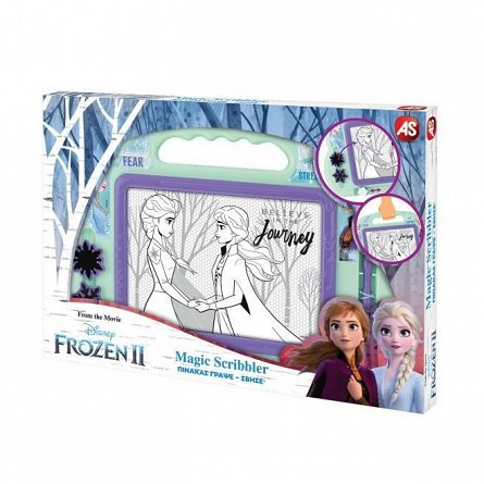 Tabla de scris AS Art - Magic Scribbler, Frozen 2