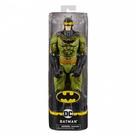 Figurina Batman in costum verde camuflaj, 30 cm