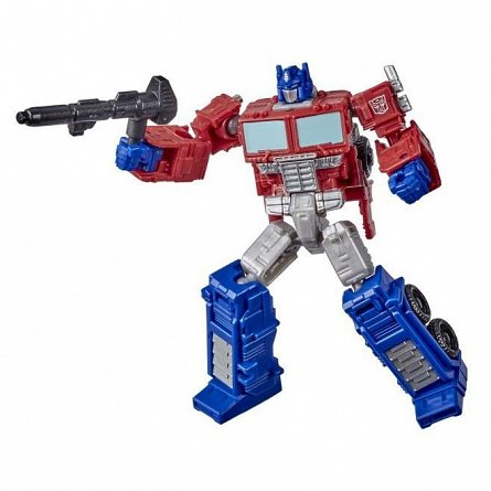 Transformers Kingdom, War for Cybertron - Figurina Outobot Optimus Prime
