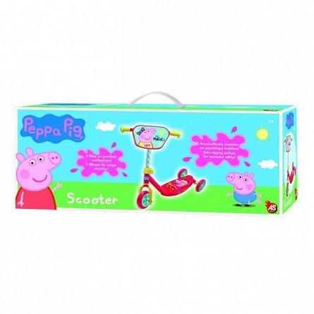 Trotineta copii AS cu 3 roti - Peppa Pig