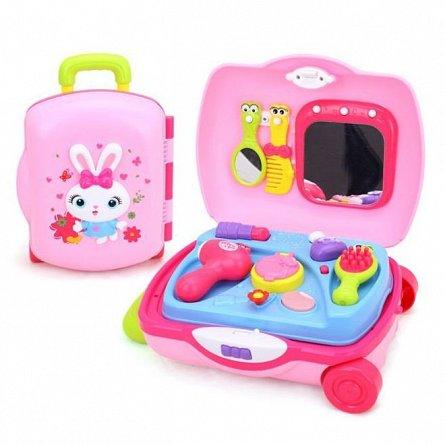 Jucarie Hola Toys - Troler coafura cu accesorii frumusete