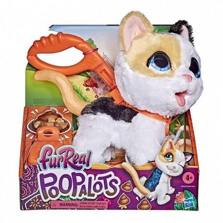 Plus interactiv FurReal - Poopalots, Pisica cu lesa