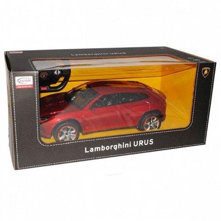 Masina RC Rastar - Lamborghini Urus, visiniu, 1:14