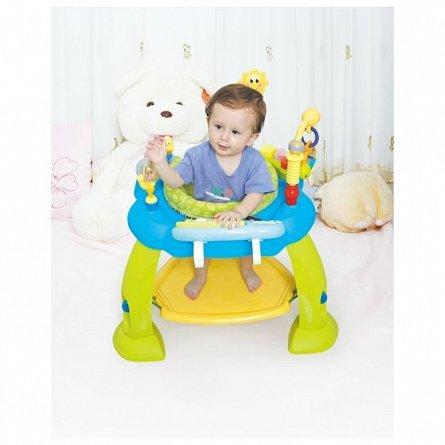 Centru de activitati pentru bebelusi Hola Toys, albastru
