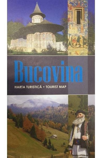 Bucovina. Harta turistica
