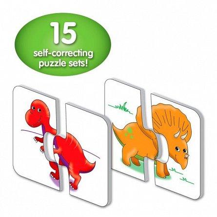 Puzzle Potriveste - Dinozauri, The Learning Journey