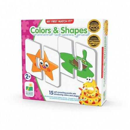 Puzzle Potriveste - Culori si Forme, The Learning Journey