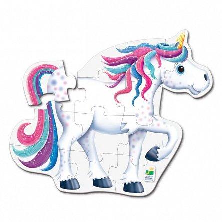 Primul meu puzzle de podea - Unicorn, The Learning Journey