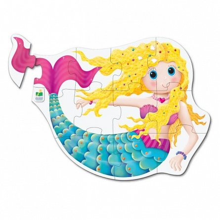 Primul meu puzzle de podea - Sirena, The Learning Journey