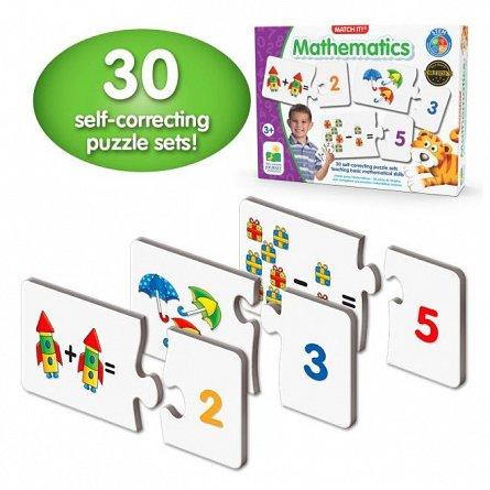 Puzzle Potriveste - Cifrele socotind, The Learning Journey