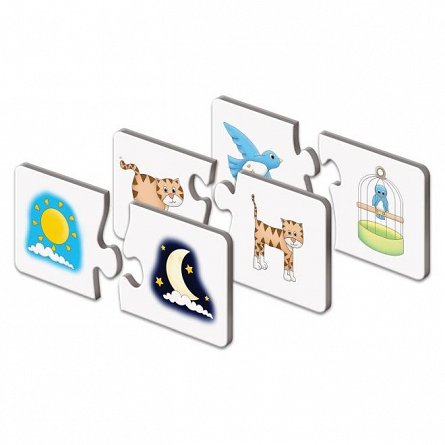 Puzzle Potriveste - Lucrurile opuse, The Learning Journey